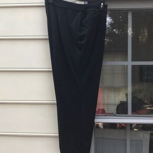Chico's black ponte knit Ankle pants - 18 - 3.5